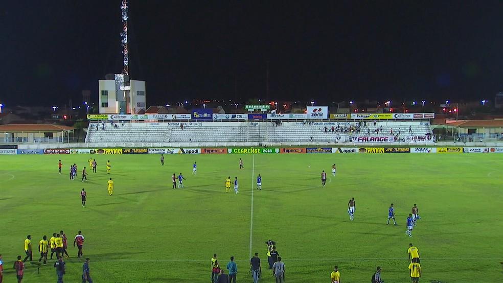 Iguatu x Uniclinic vale vaga nas semifinais do Campeonato Cearense (Foto: Reprodução)
