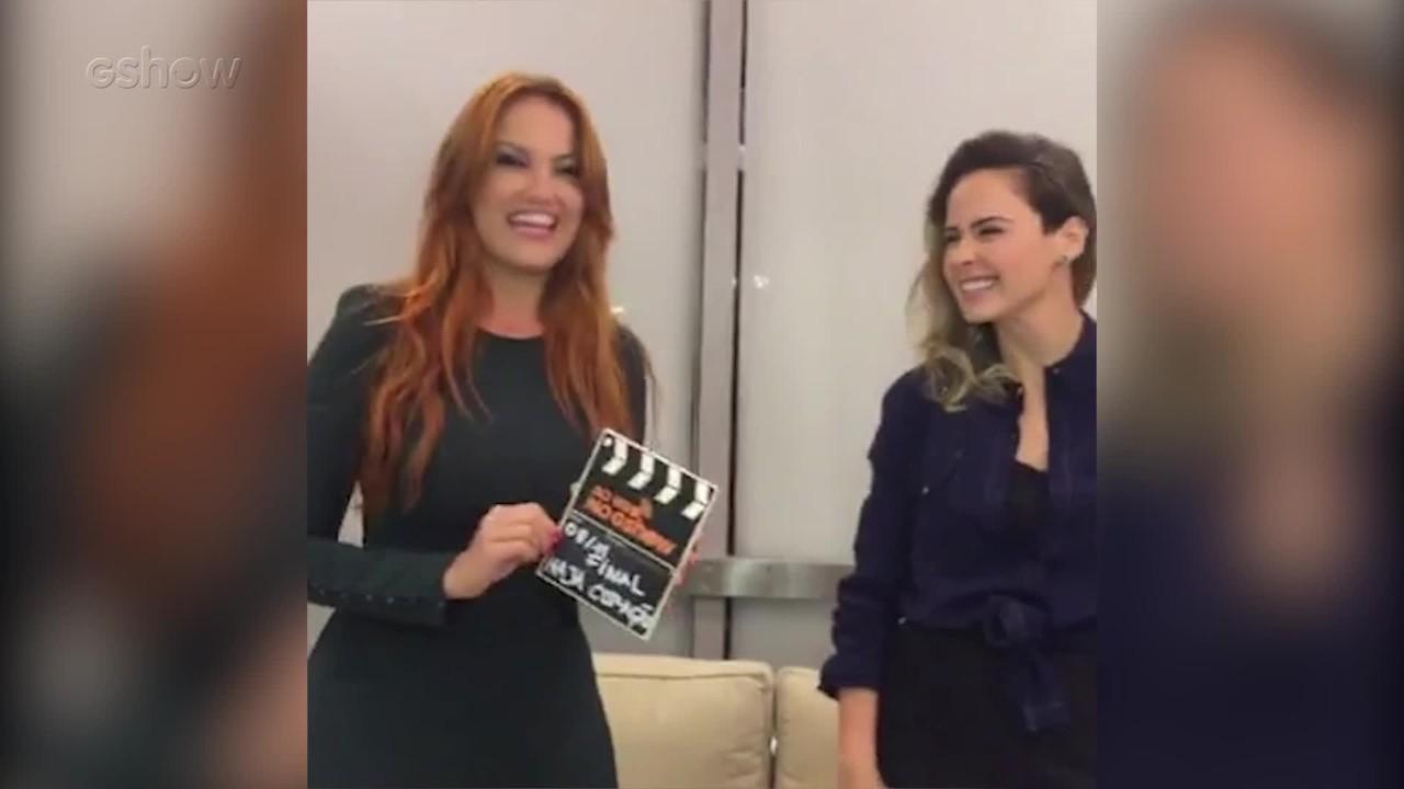 Ana Paula Renault e Ellen Rocche recebem a companhia de Renata Augusto em transmissão