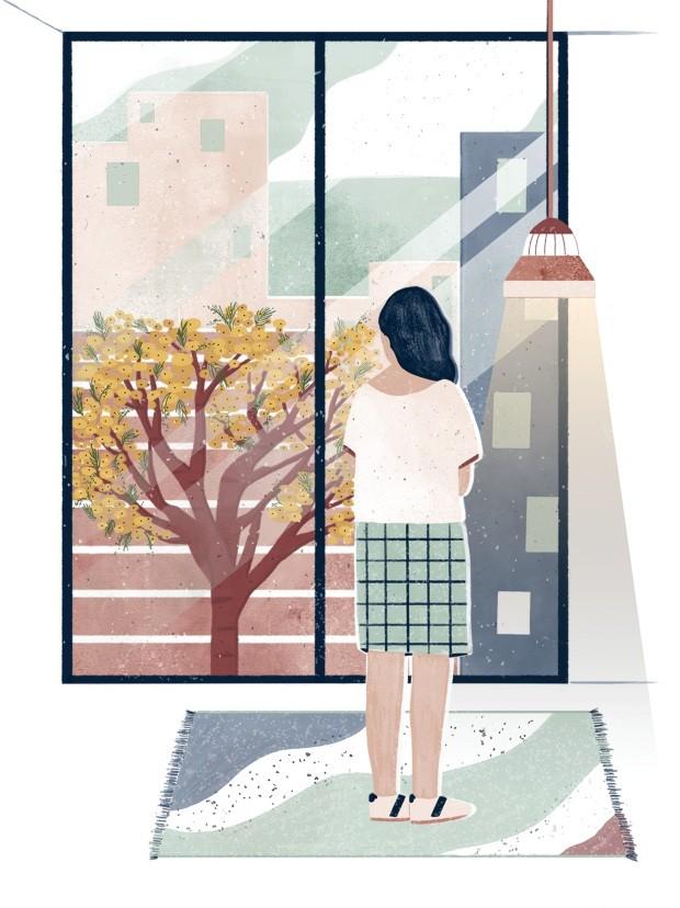 Ilustração Nos jardins de Ananda Apple, agosto de 2018 (Foto: Ilustração Anália Moraes / Editora Globo)
