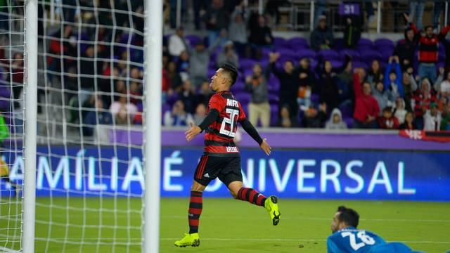 Gol, Uribe, Flamengo