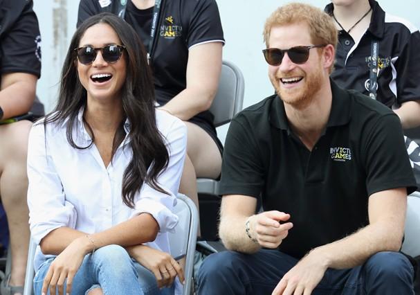 Príncipe Harry e Meghan Markle vão morar juntos (Foto: Getty Images)
