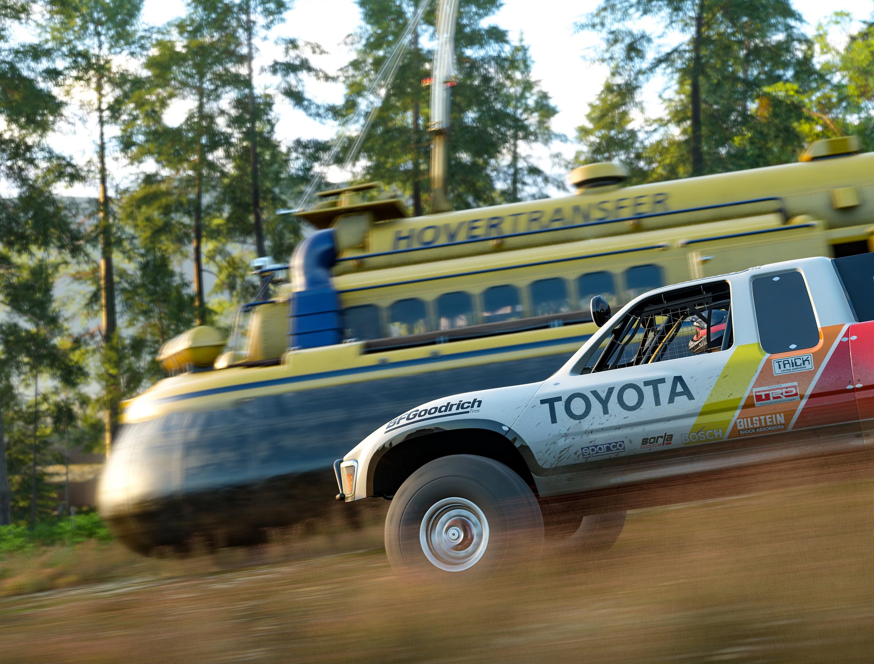 Forza Horizon 4 Hover Craft Race (Foto: Divulgação)