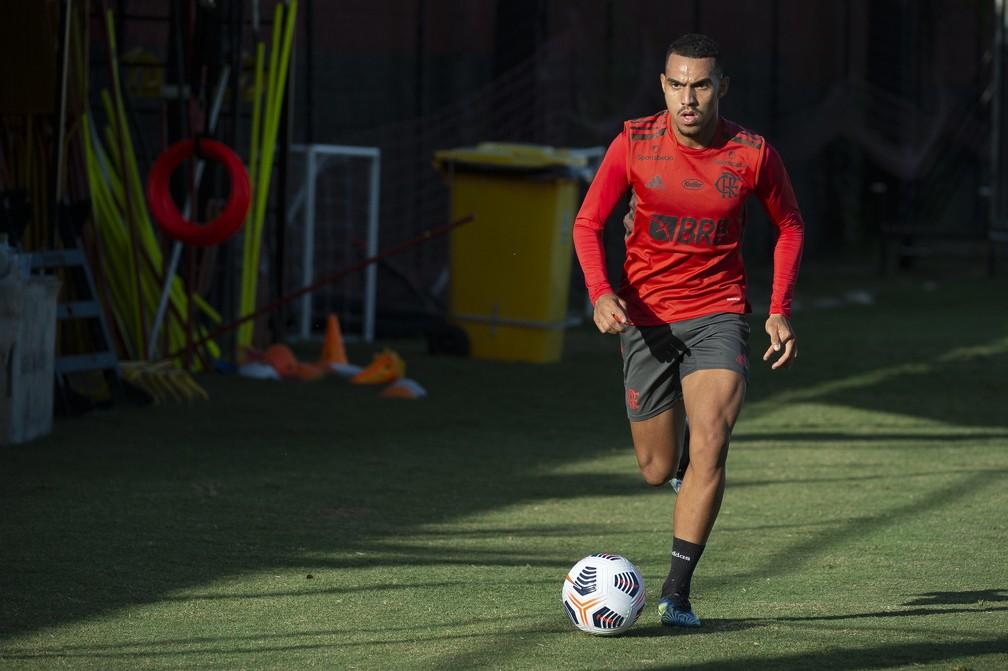 Matheuzinho Flamengo — Foto: Alexandre Vidal / Flamengo