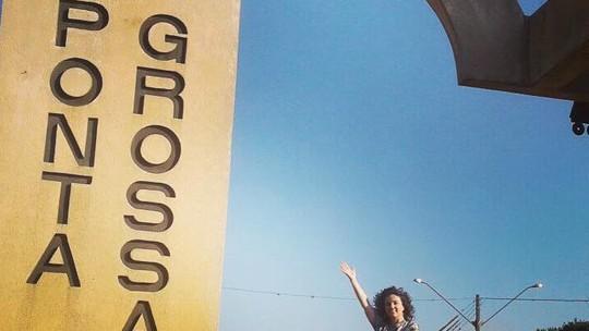 'Plug' em Ponta Grossa: confira as aventuras de Michelly pela cidade