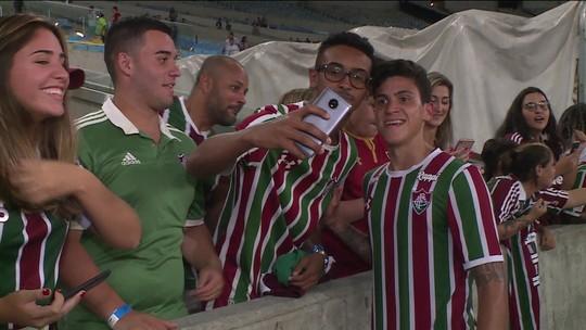 """Pedro comemora retorno aos campos e revela mensagem de Tite: """"Desejou bom jogo"""""""