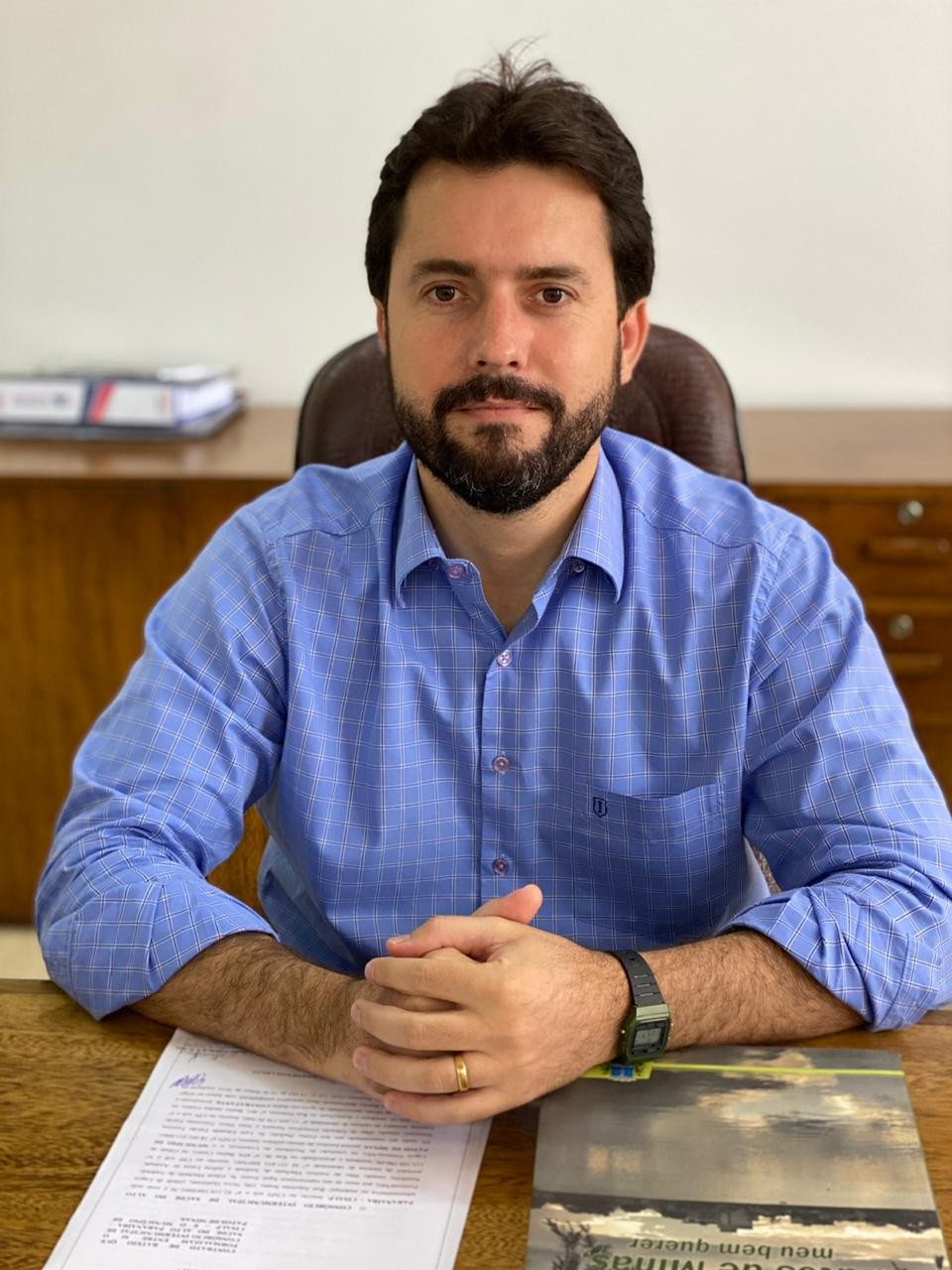 'Quero poder resgatar o amor dos patenses pela nossa cidade', afirma Luís Eduardo Falcão, prefeito de Patos de Minas