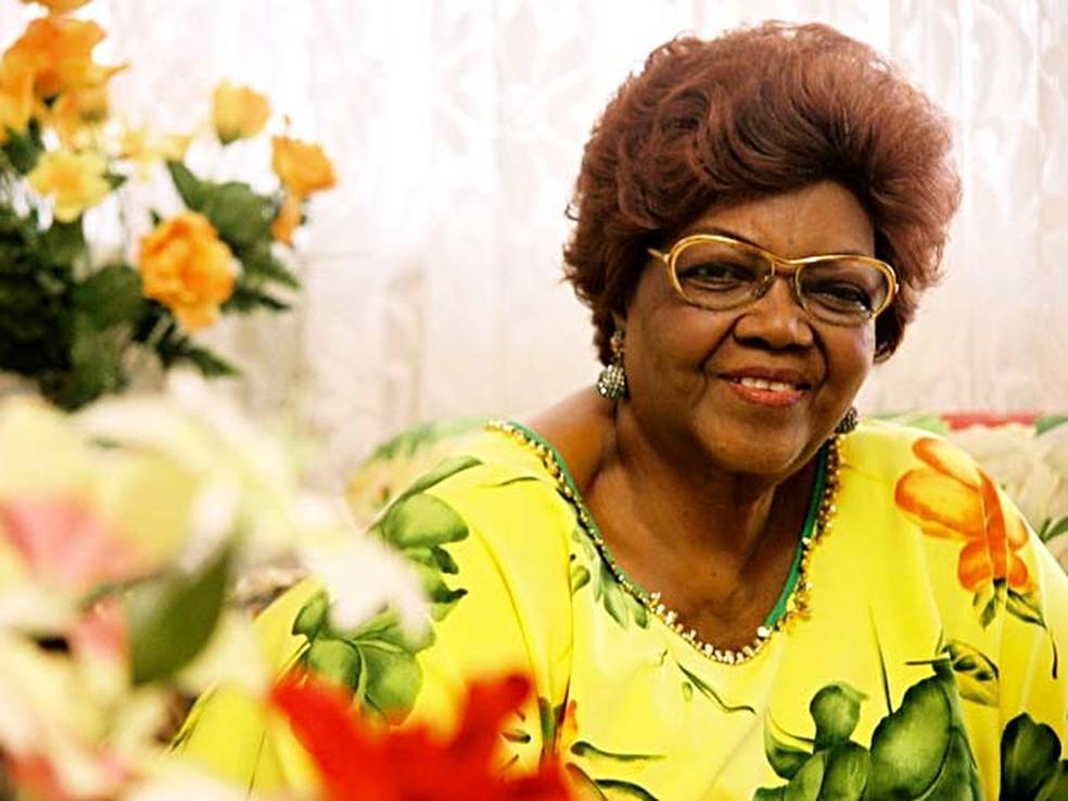 """Dona Ivone Lara, atração do projeto """"Flores em vida"""", no CCBB de Brasília (Foto: Silvana Marques/Divulgação)"""