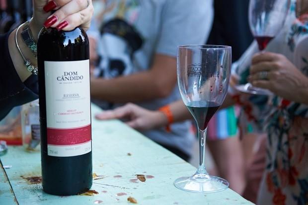 Edição presencial do Vinho na Vila, em 2019 (Foto: Selmy Yassuda)