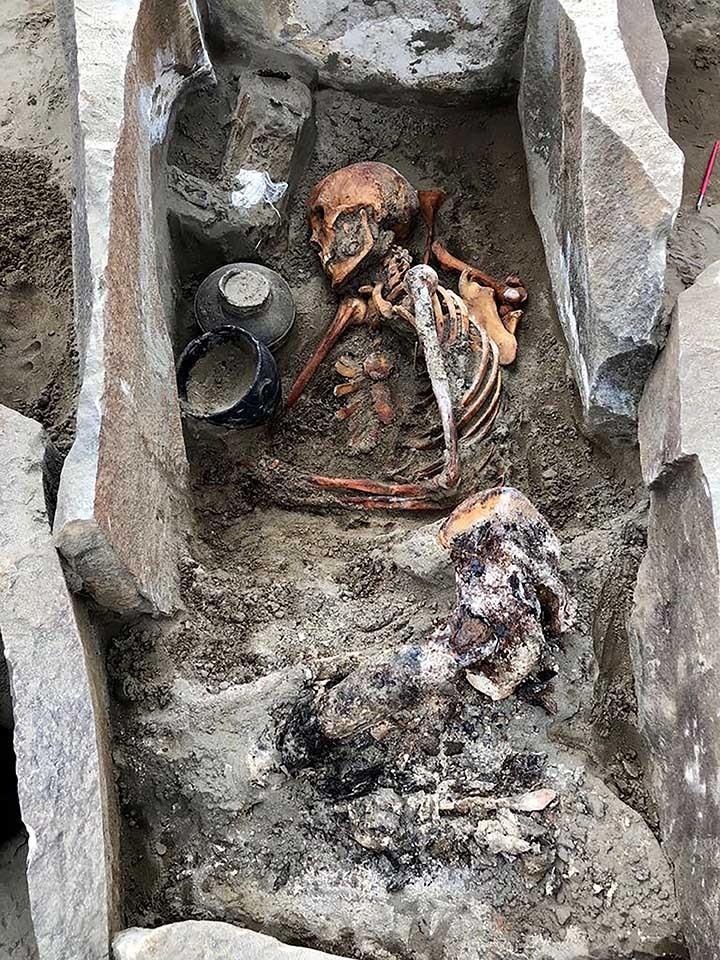 """Múmia foi apelidada de """"Bela Adormecida"""" pelos arqueólogos (Foto: Instituto de História e Cultura Material de São Petesburgo)"""