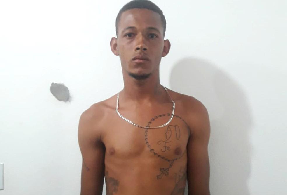 Suspeito foi identificado pela vítima — Foto: Divulgação/Polícia Civil