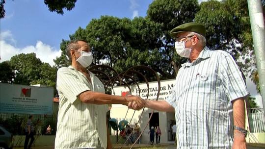 Aposentados recebem coração em transplantes no mesmo dia no Ceará