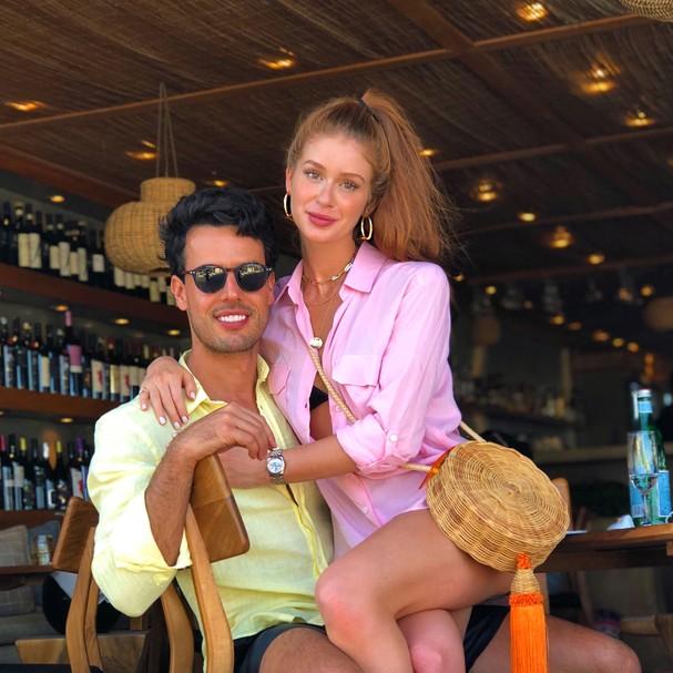 Marina Ruy Barbosa e Alexandre Negrão (Foto: Reprodução Instagram)