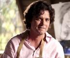 Felipe Camargo é Perácio em 'Sangue bom'   TV Globo