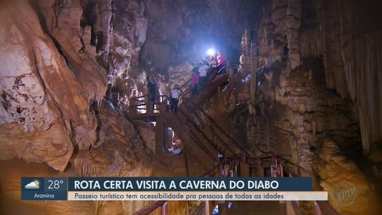 Conheça o Parque Estadual da Caverna do Diabo em Eldorado, SP
