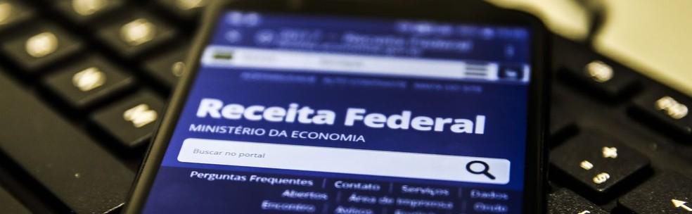 Aplicativo do Imposto de Renda — Foto: Marcello Casal Jr/Agência Brasil