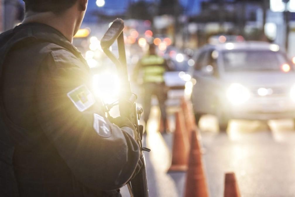 Policiamento ostensivo no Rio Grande do Norte tem efetivo aquém do previsto em lei (Foto: Ney Douglas)