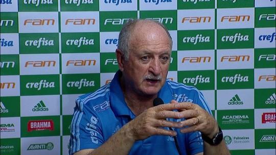 Felipão destaca vitória em jogo igual e começa a se cobrar por ao menos um título no Palmeiras