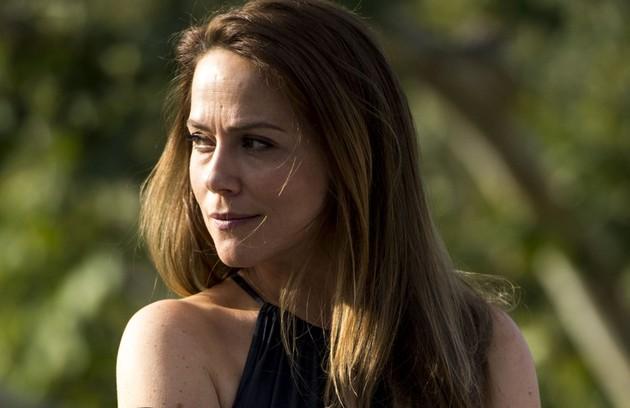 Na terça (29), Lili insinua que o bebê é de Germano (Foto: TV Globo)