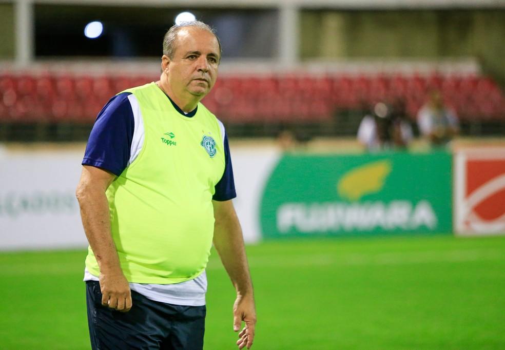 Oswaldo voltou ao Guarani como técnico — Foto: Ailton Cruz / Gazeta de Alagoas