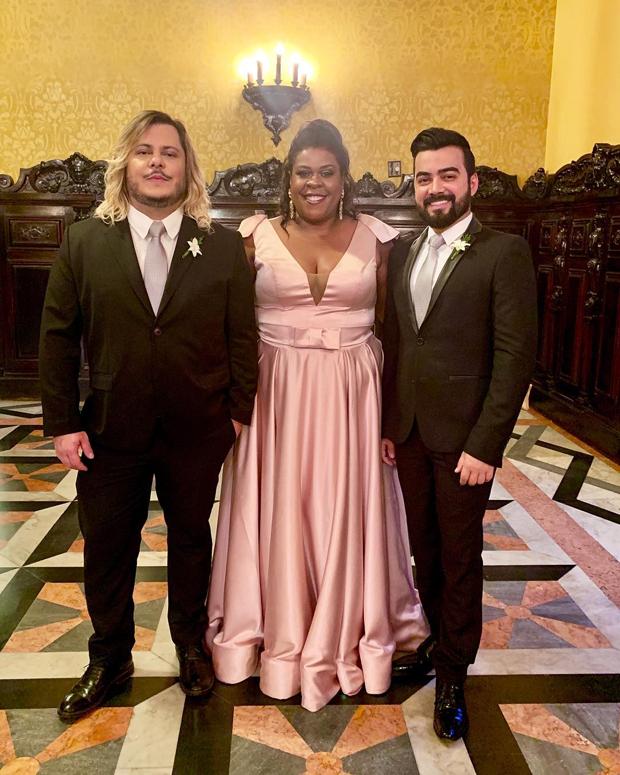 Marcus Majella, Cacau Protásio e Lindsay Paulino (Foto: Reprodução/Instagram)