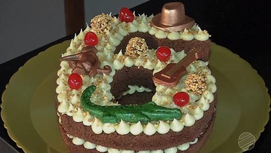 Aprenda a fazer um bolo cheio de estilo e identidade!