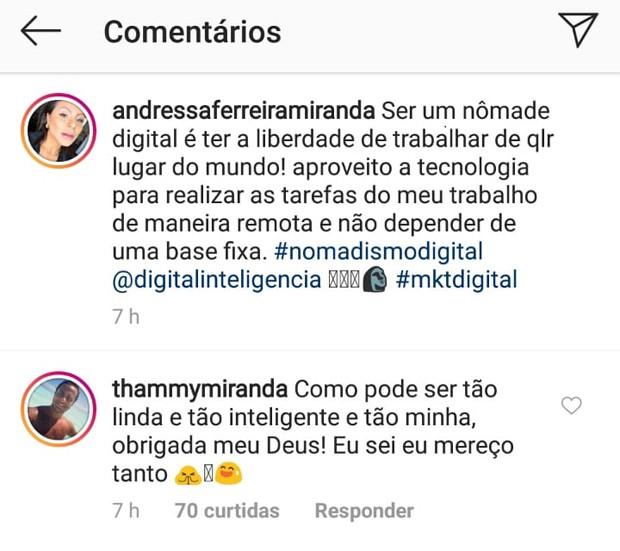 Thammy Miranda elogia a esposa, Andressa Ferreira (Foto: Reprodução/Instagram)