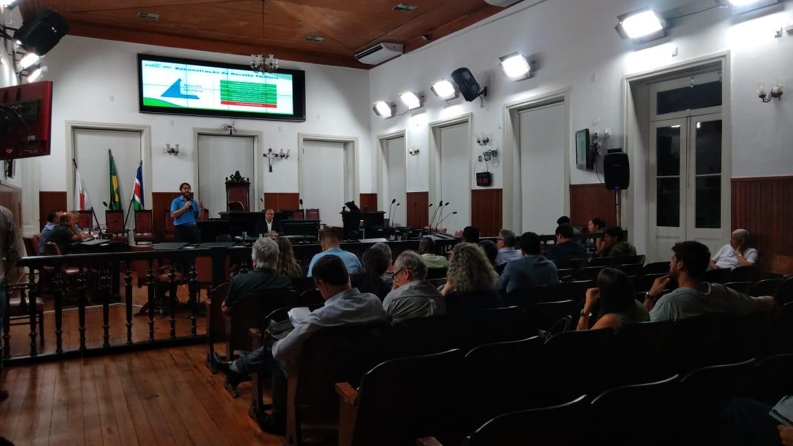 Audiência pública discute reajuste nas tarifas de água e esgoto em Juiz de Fora