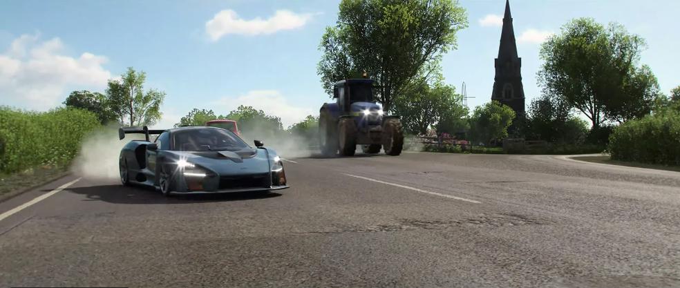 Microsoft revelou vários detalhes da Forza Horizon 4 (Foto: Reprodução/YouTube)