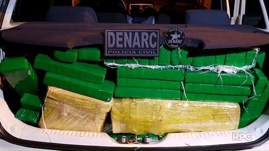 Denarc apreende 300 kg de maconha em Santo Inácio
