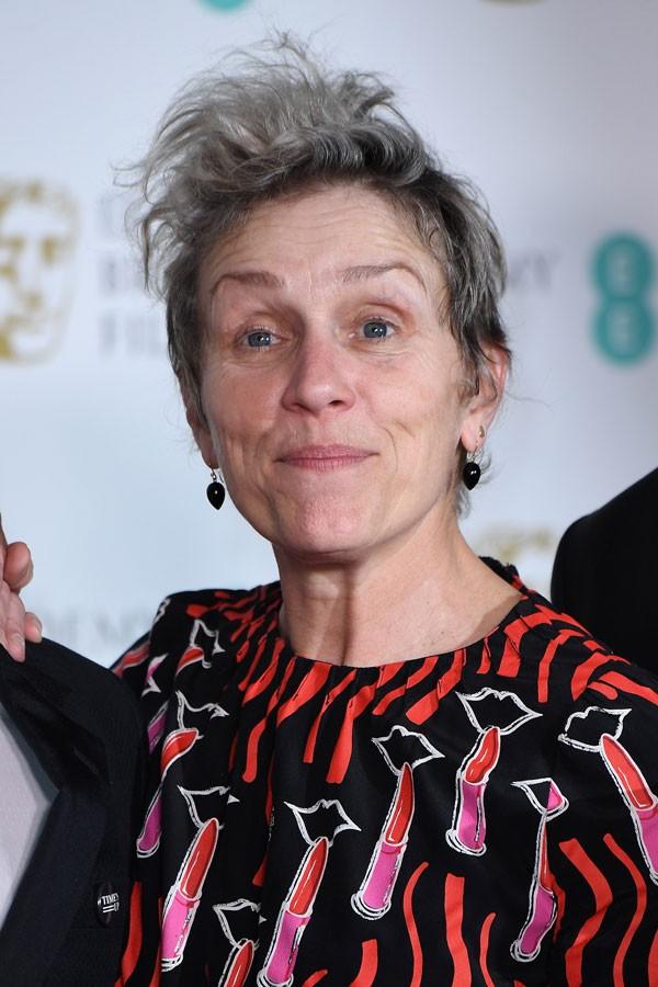Frances McDormand, ganhadora na categoria de Melhor Atriz, também é favorita para levar a estatueta (Foto: Getty Images)