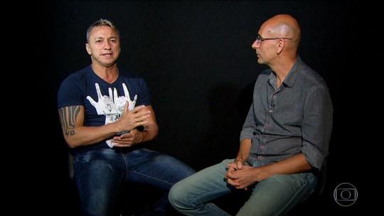 """Ídolo gremista, Paulo Nunes se vê só atrás de Renato e explica como """"levou"""" R10 à Copa América de 99"""