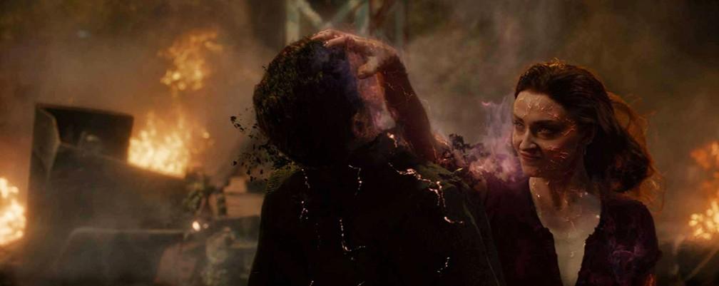 Sophie Turner em cena de 'X-Men: Fênix Negra' — Foto: Divulgação