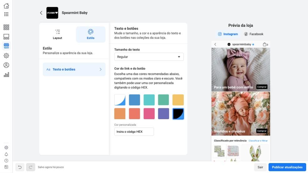 Recurso 'Lojas' do Facebook vai abrir interface de vendas a pequenos vendedores — Foto: Divulgação