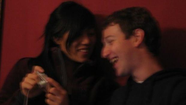 Esta foto borrada com Priscilla é de 2005 (Foto: Mark Zuckerberg/Facebook via BBC)