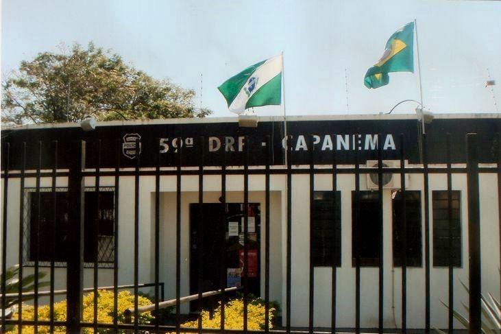 Pai e filho são presos suspeitos de homicídio, em Capanema