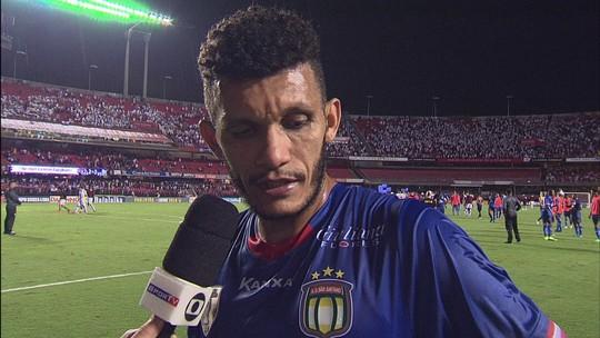 """""""A gente tinha uma vantagem, mas saímos para uma grande equipe"""", Bruno Recife"""