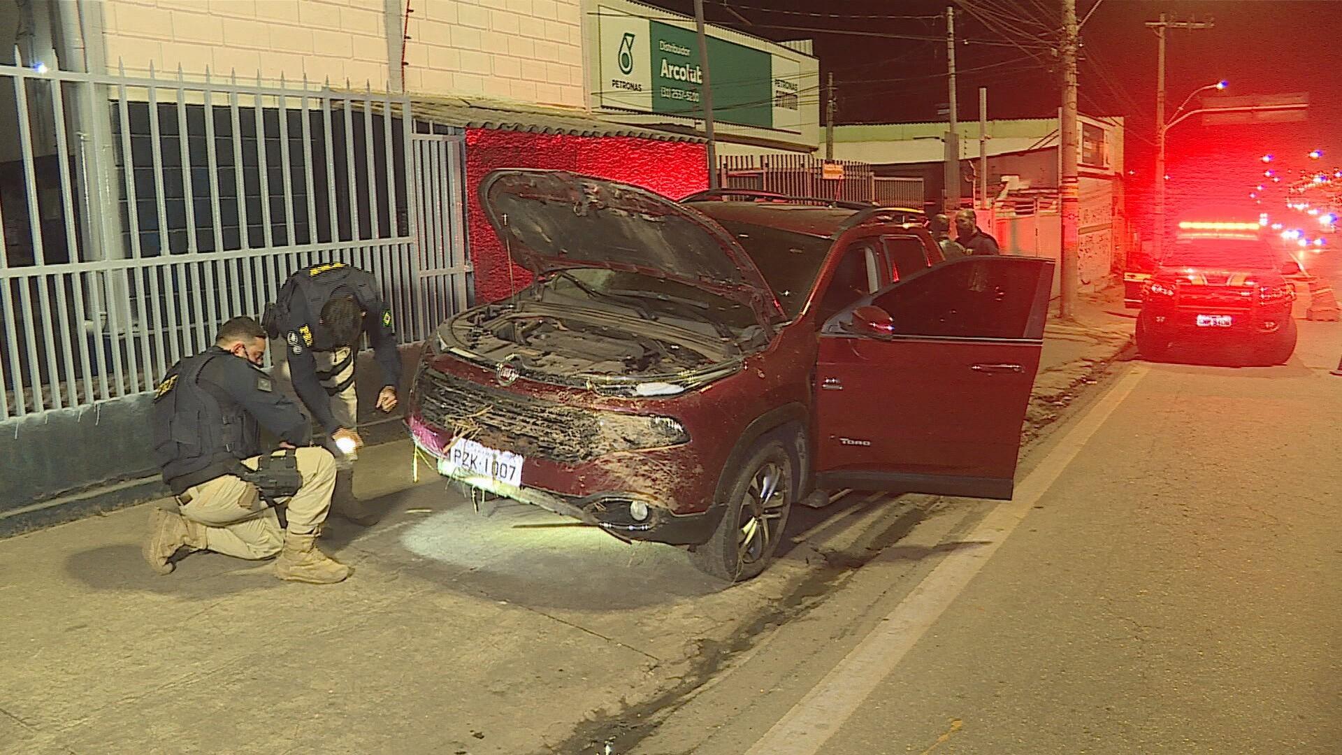 Homem é preso em Contagem  suspeito de assaltar caminhão de cigarros usando carro roubado