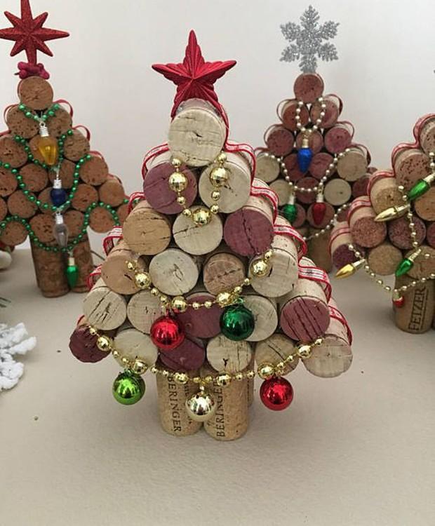 Árvore de rolhas (Foto: Pinterest/Reprodução)