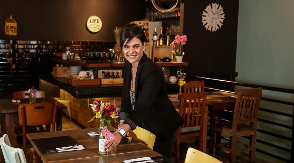 Maura Attui, dona de um restaurante e um espaço de festas em São Paulo (Foto: Reprodução/Agência Sebrae de Notícias)