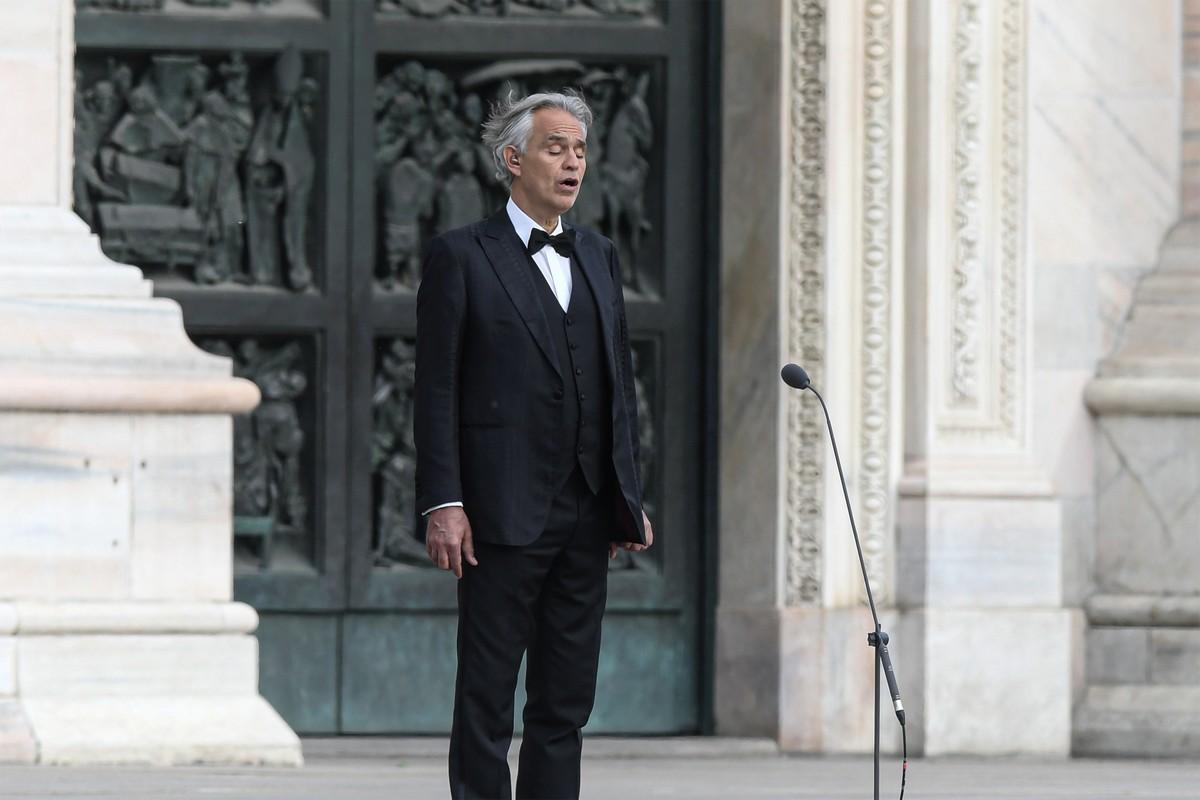 Andrea Bocelli pede desculpas por comentários sobre Covid-19 | Música