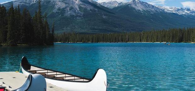 Meghan e Harry vão passar a lua-de-mel neste resort canadense (Foto: Divulgação)