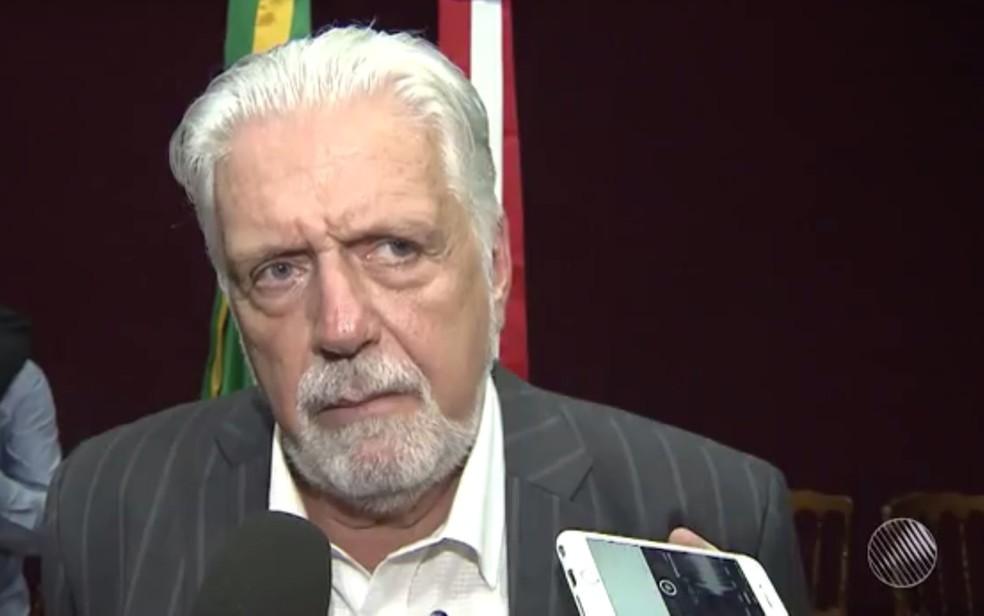 Jaques Wagner atualmente é secretário de Desenvolvimento Econômico da Bahia (Foto: Reprodução/ TV Bahia)