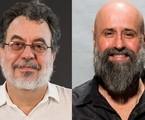 Jorge Furtado e Mauro Mendonça Filho | Divulgação/TV Globo