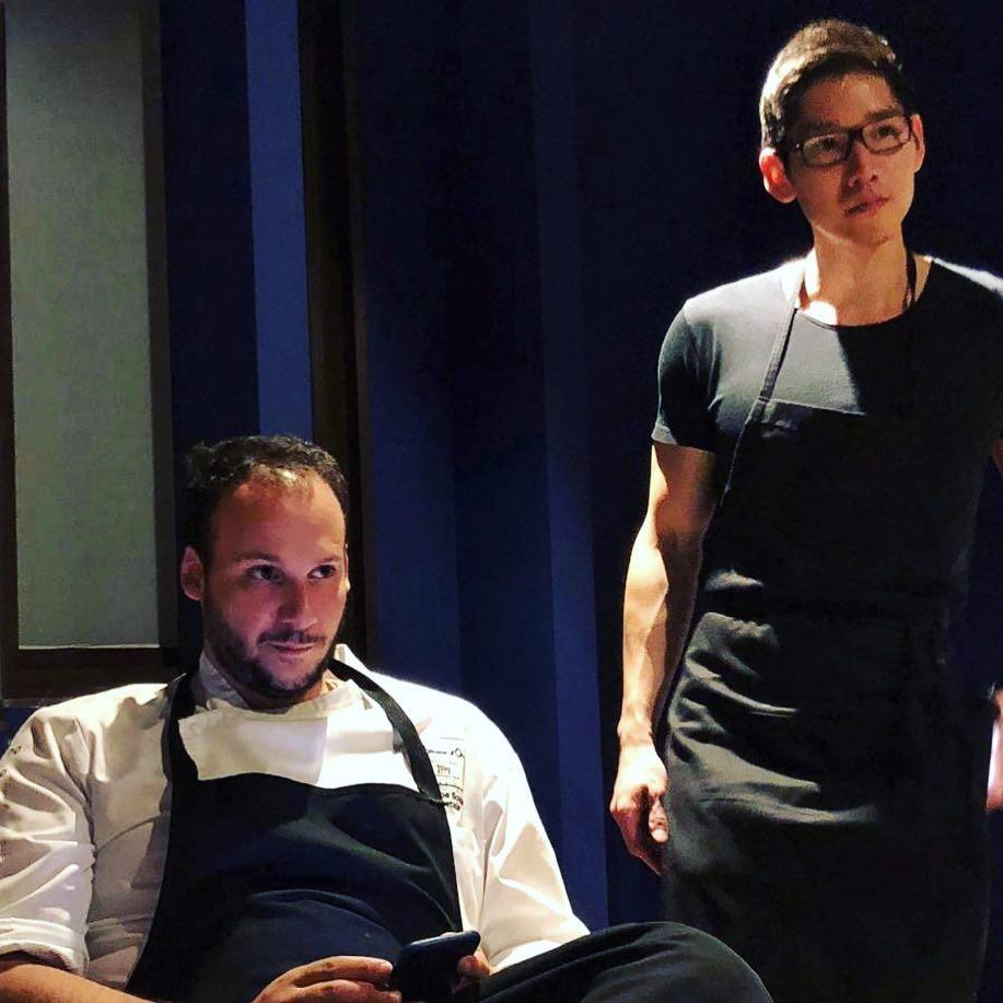 Luiz Filipe Souza e o influencer Fábio Moon (Foto: Reprodução Instagram)