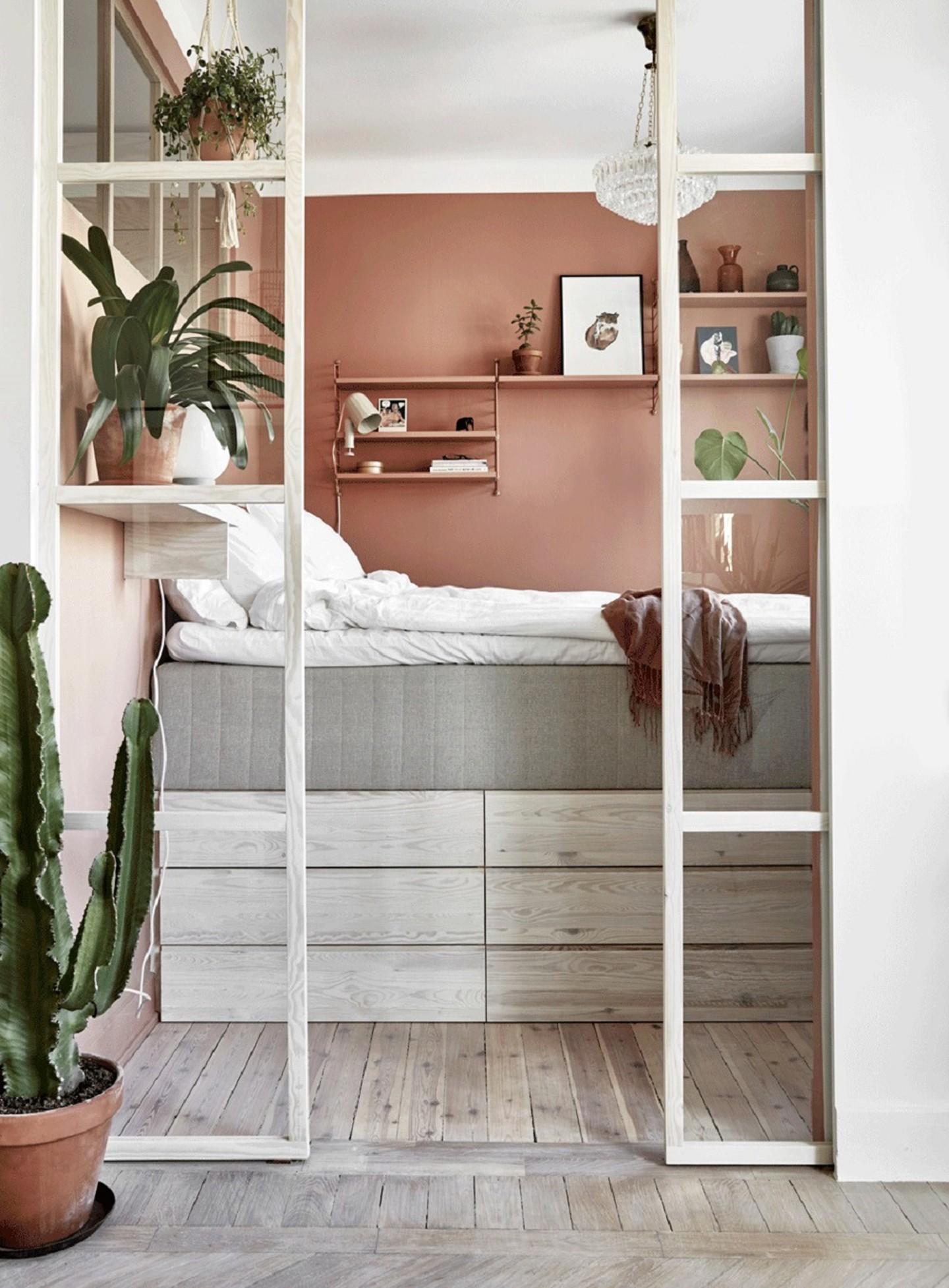 Décor do dia: decoração funcional otimiza quarto pequeno (Foto: Divulgação)