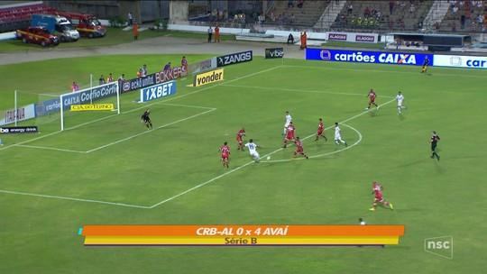 Decisivo, Rodrigão se consolida com gols e atuações e vira referência ofensiva do Avaí