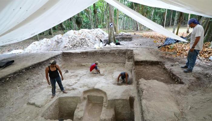 Arqueólogos trabalham no espaço há cinco anos (Foto: Divulgação/Wiesław Koszkul)