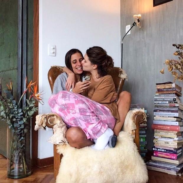 Bruna Linzmeyer e Priscila Visman (Foto: Reprodução/Instagram)