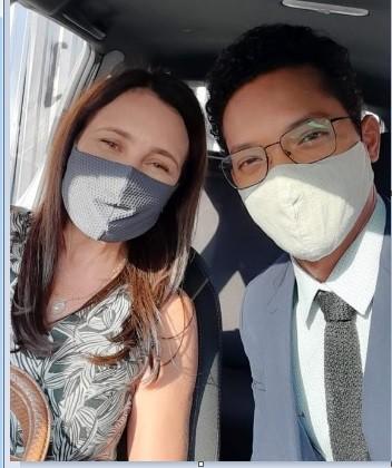 Adriana Esteves e Nando Brandão (Foto: Divulgação)