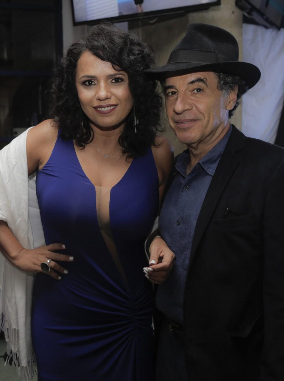 Dadá Coelho e Paulo Betti (Foto: Raphael Dias/Gshow)